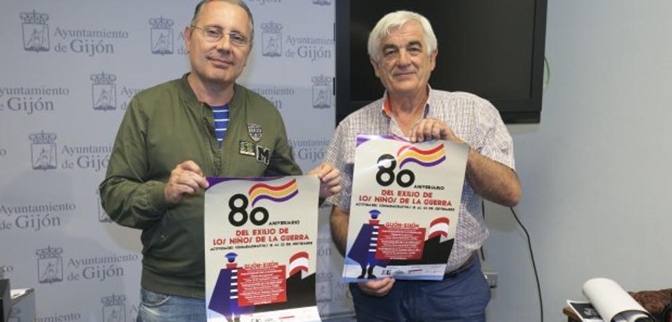 Las cuencas mineras se unen al 80 aniversario de los 'Niños de la guerra'