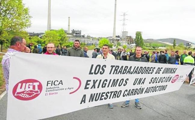 Los mineros vuelven a Compostilla para exigir a Endesa la compra de carbón