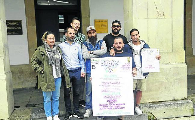 Más de 40 artistas decorarán con grafitis la nave de El Bayu en el Festival Siero Vive 2