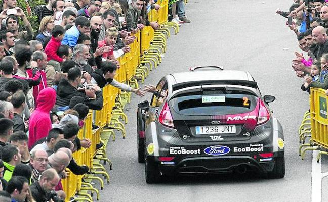 El Rally Princesa de Asturias pone en liza el título nacional