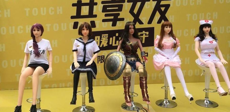 La locura de las muñecas inflables inunda China