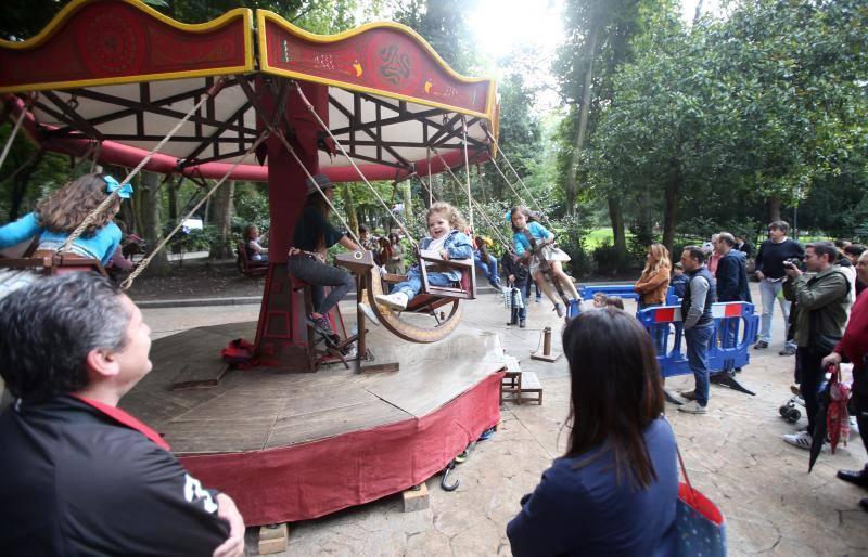 El Parque de San Francisco en Oviedo se llena de actividades para los más pequeños por San Mateo