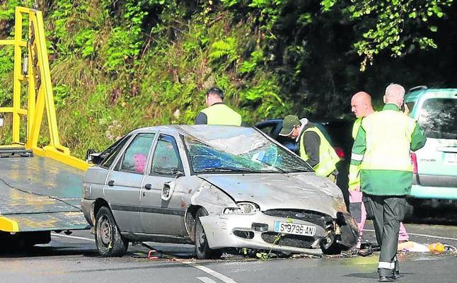 Accidente de tráfico en Onís