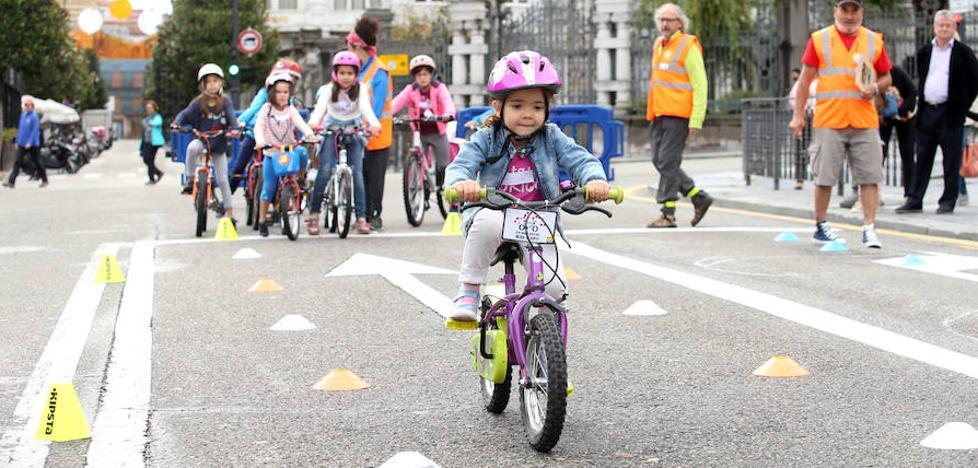 Oviedo inicia la Semana Europea de la Movilidad con un día sin coches y el apoyo a personas con discapacidad