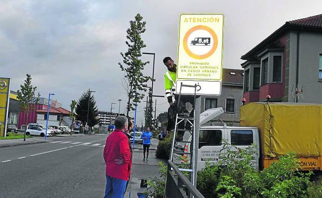 Lugones prohibirá ya el tránsito de vehículos de más de 5,5 toneladas