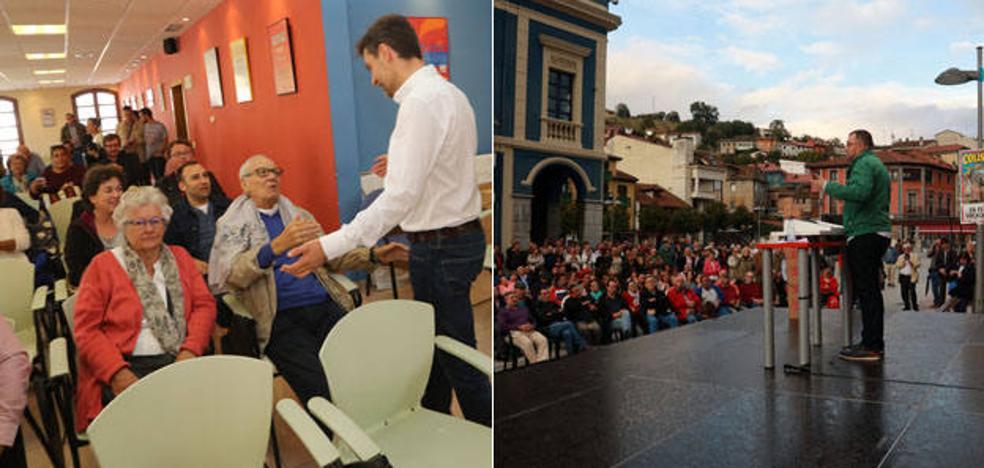 Barbón y Pérez pugnan por liderar el nuevo PSOE tras 17 años de 'javierismo'