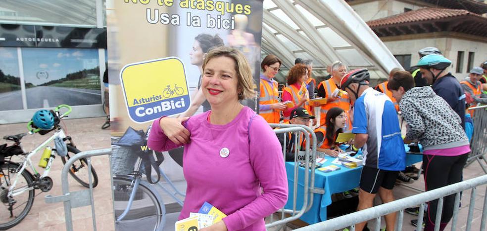 Taboada se compromete con la bici en el Plan de Movilidad ante unos 360 participantes en la marcha ciclista