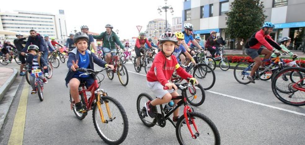 Marcha ciclista desde La Losa