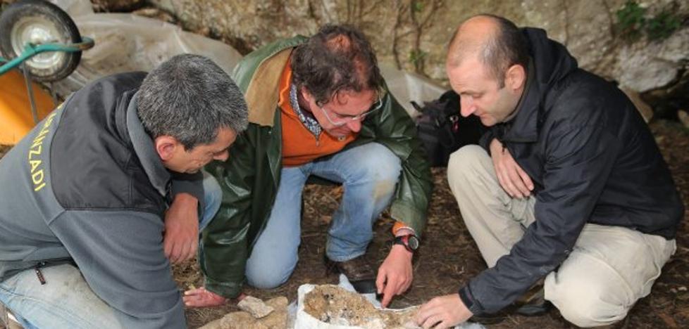 Las excavaciones en la llanisca cueva del Alloru se retomarán este mes