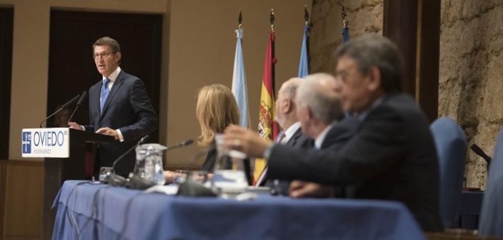 Feijóo recuerda a Puigdemont que «representa al Estado» en Cataluña