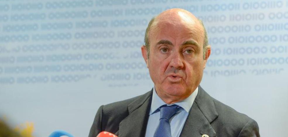 De Guindos cree que España crecerá por encima del 3%
