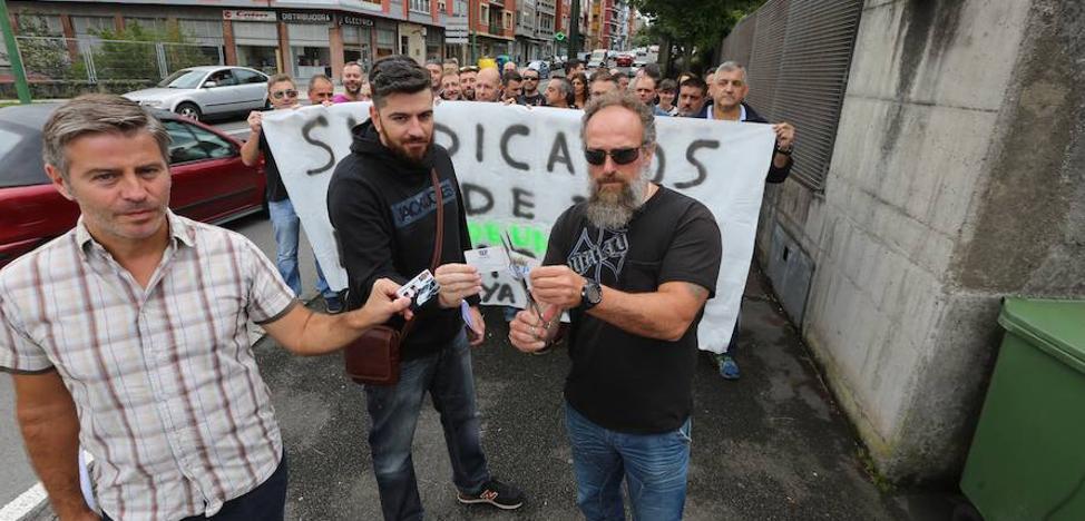 Policías nacionales escenifican su «descontento» con los sindicatos