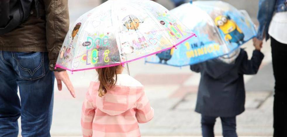 Cielos cubiertos y temperaturas mínimas en ascenso para este lunes en Asturias