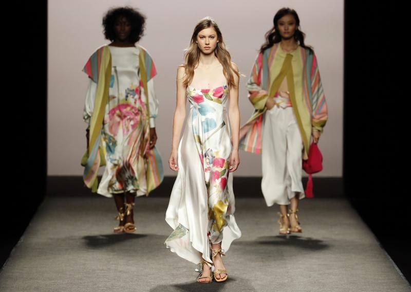 Los diseños del asturiano Marcos Luengo deslumbran en la Mercedes-Benz Fashion Week