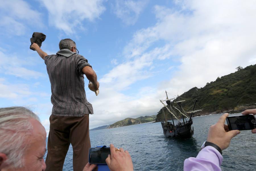La 'Nao Victoria' llega a Tazones