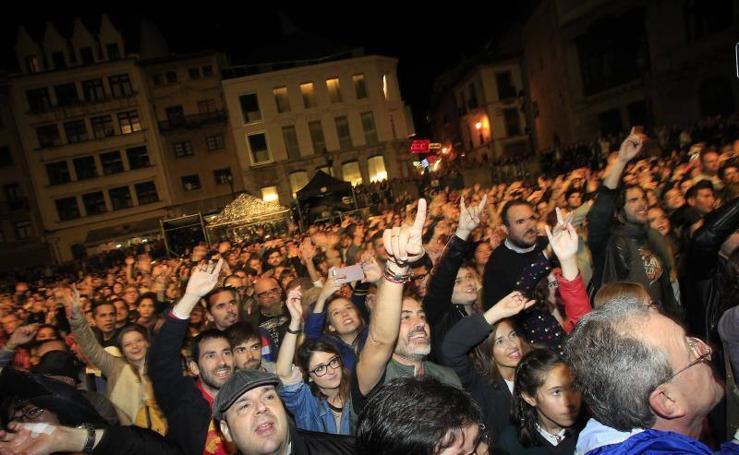 Las imágenes del concierto de M Clan, en Oviedo