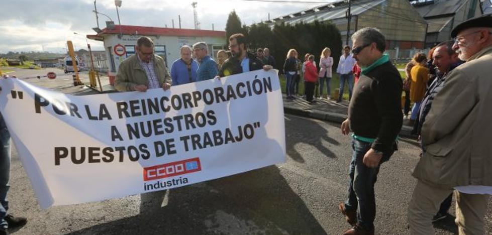 Los 34 despedidos de Montrasa reclaman la vuelta a sus trabajos