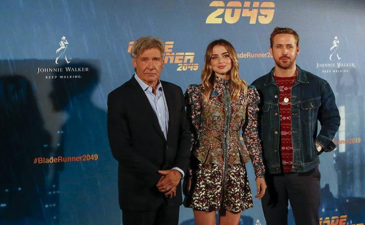 La presentación de 'Blade Runner 2049', en imágenes