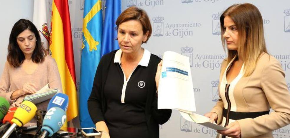 «El Ayuntamiento de Gijón trabaja a más del 100% para sacar adelante las obras», defiende Moriyón