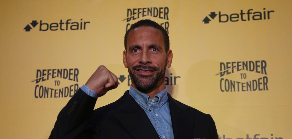 Rio Ferdinand se pasa al boxeo