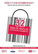 Próximamente: 32 Feria de Stocks del comercio en Gijón, el mayor outlet de Asturias