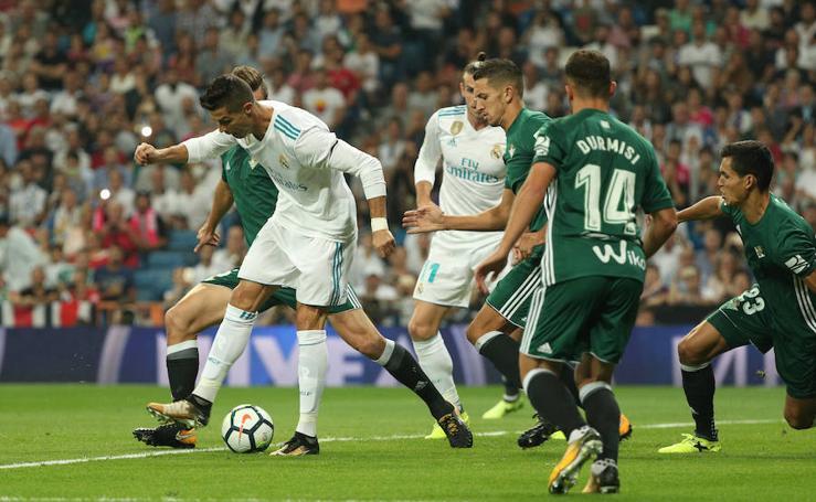 Las mejores imágenes del Real Madrid-Betis