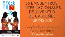 Ampliado el plazo de inscripción para KBUÑS35 hasta el 30 de septiembre