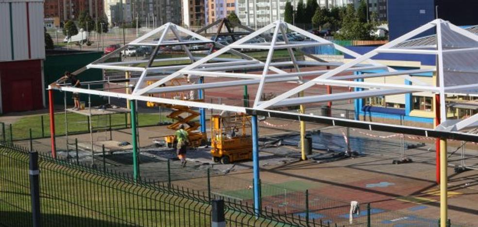 Una empresa homologada medirá las emisiones de la obra del colegio El Quirinal