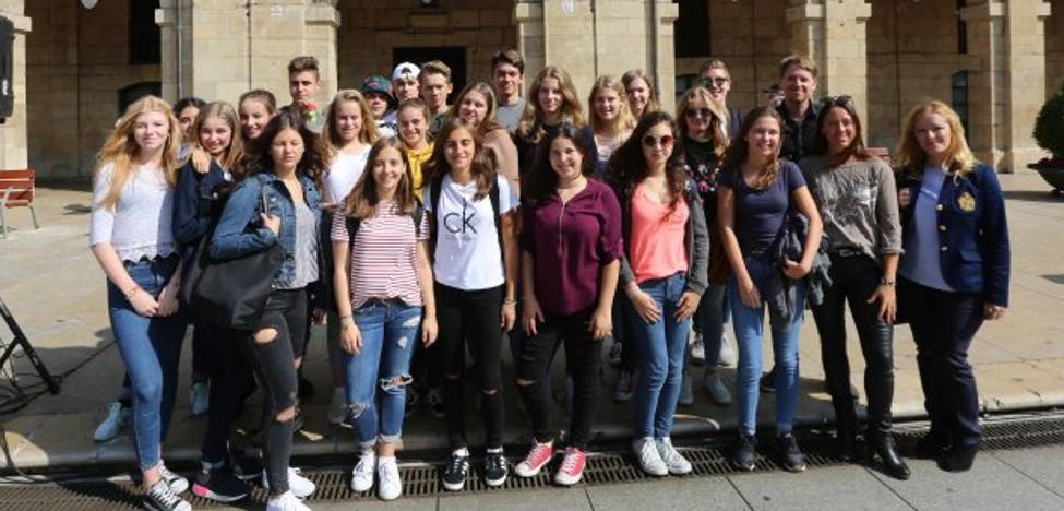 Recepción de alumnos alemanes de intercambio