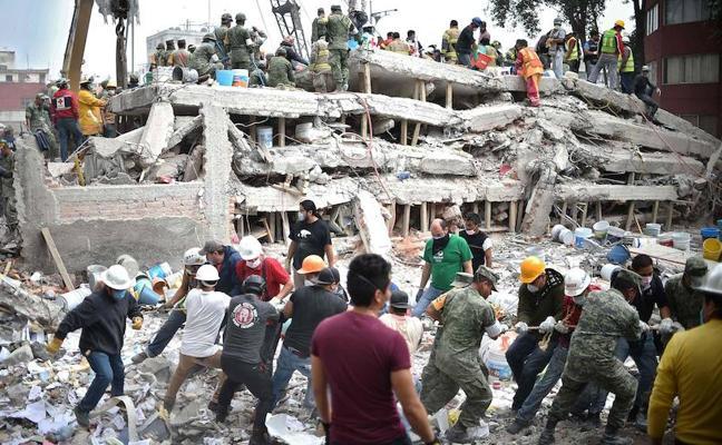 Asturianos en el terremoto de México: «El edificio era como una peonza. Ha sido horrible»