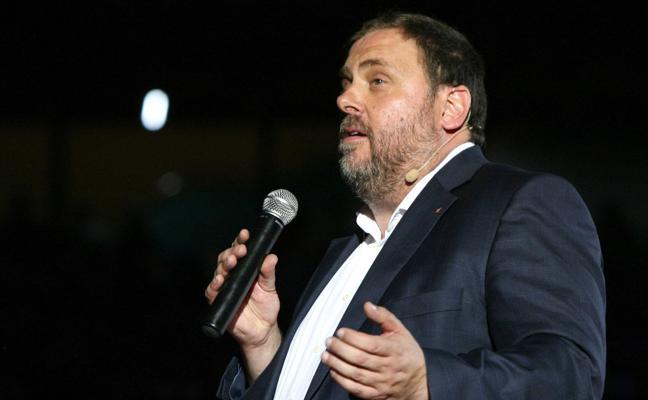Junqueras: «No hay moción de censura más grande que la democracia y el referéndum»