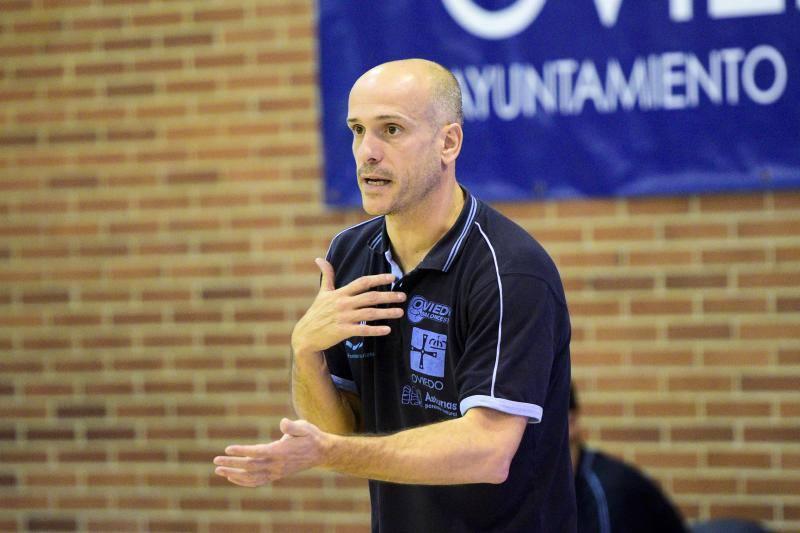 Partido del Unión Financiera Baloncesto Oviedo-Guipuzkoa Basket