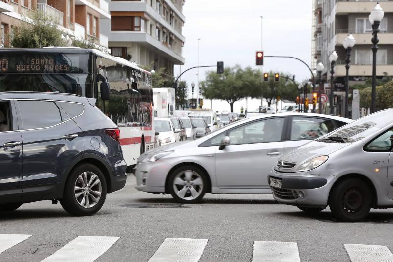 Gijón corta varias de sus calles en el 'Día sin coche'