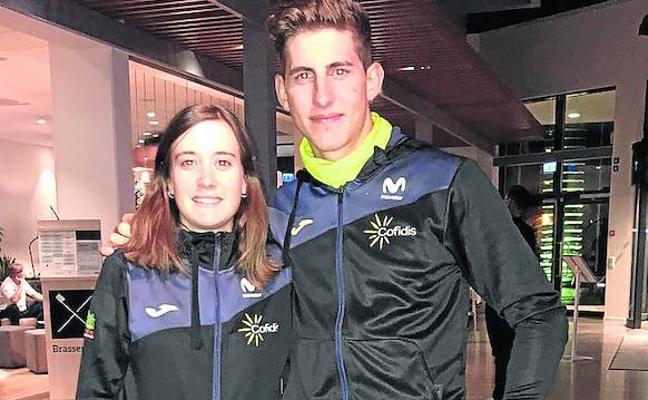 Cortina y Alicia González quieren lucirse en el Mundial