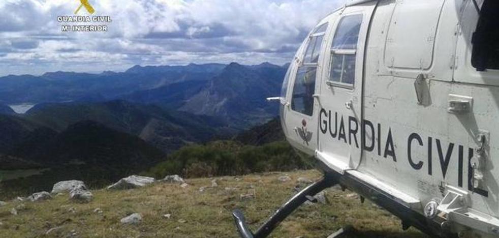 La Guardia Civil rescata a un montañero gijonés en Picos de Europa