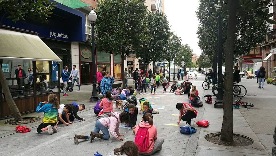 Gijón celebra el Día sin Coche