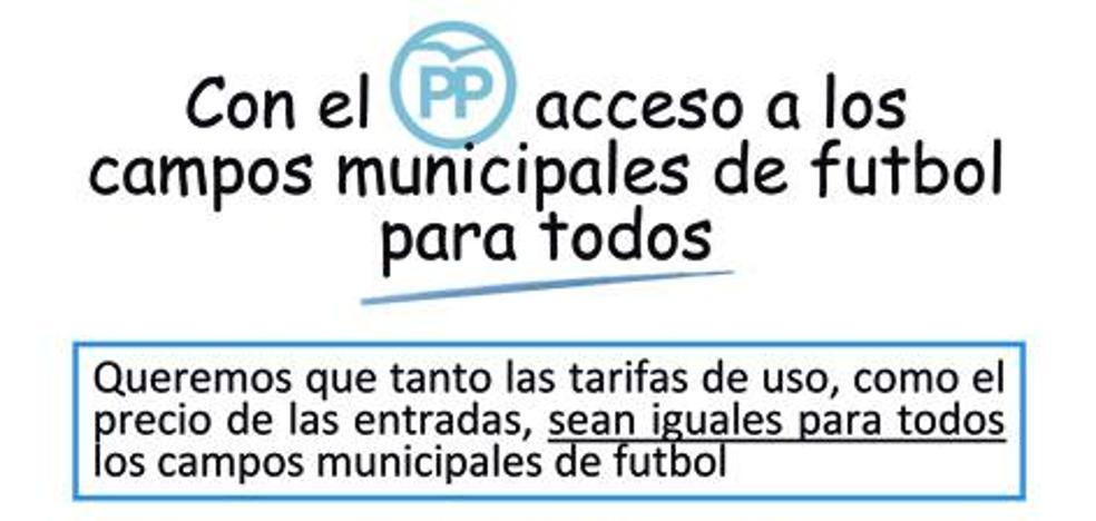 El PP aboga por un acuerdo marco de uso «para todos los clubes» de Gijón