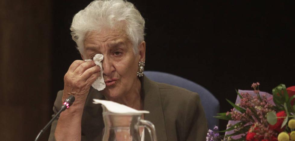 Hilda Farfante, premio Trece Rosas: «Este reconocimiento es para todos los muertos de las cunetas»