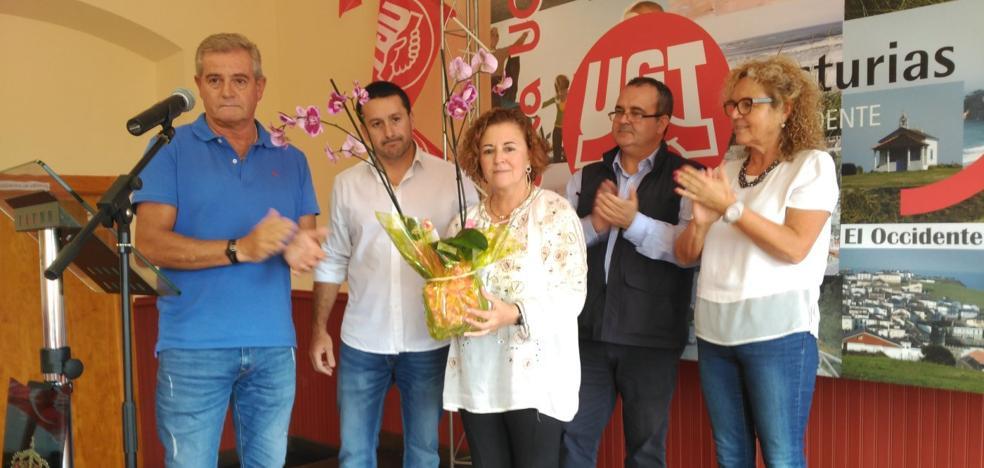 Homenaje a Arturo Verano en la fiesta anual de UGT