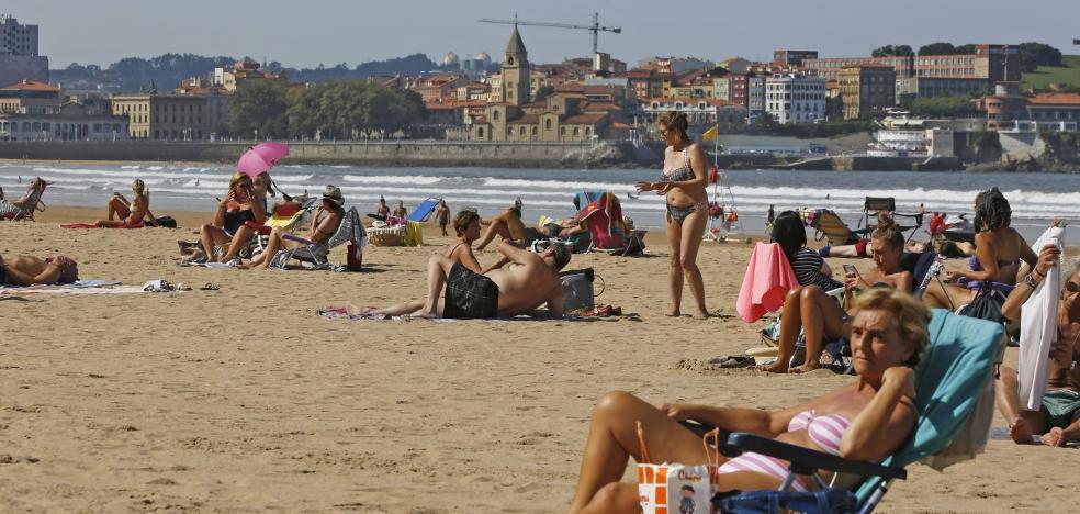 El verano llega a Asturias en otoño