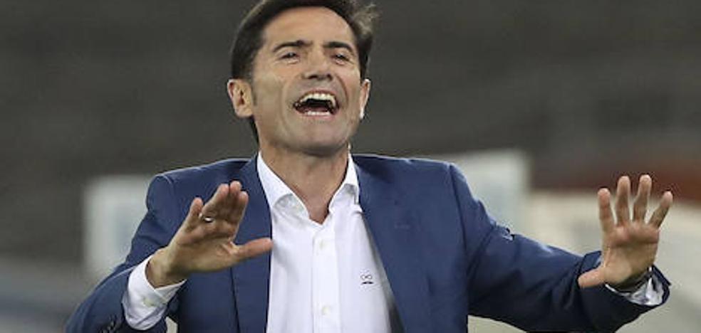 Marcelino levanta la moral del Valencia