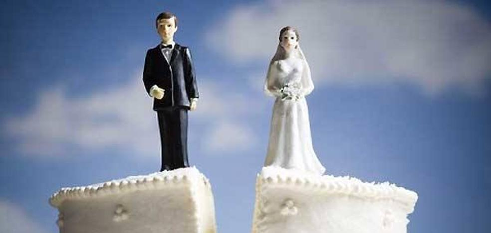 Los divorcios en Asturias, al alza en 2016