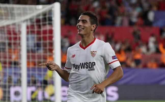Ben Yedder pone líder a un Sevilla de Champions
