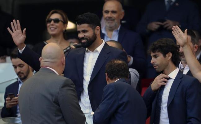 Diego Costa ya es rojiblanco