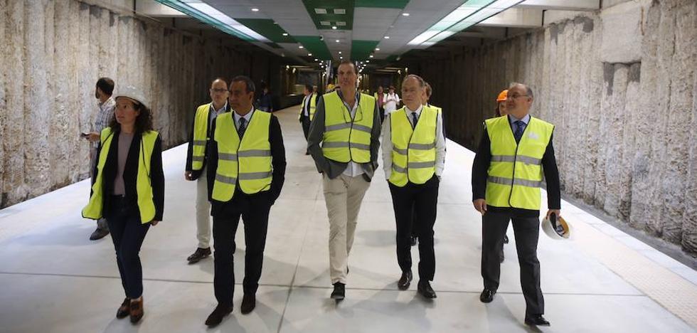Los trenes podrán circular bajo tierra en Langreo en marzo de 2019