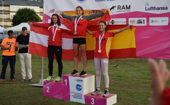 María Carnero también logró medallas en el Mundial de Viveiro