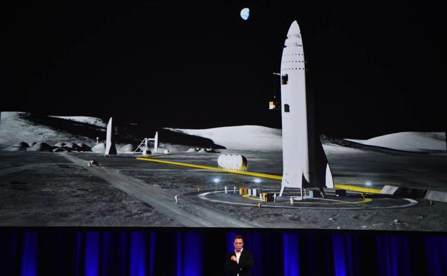 Space X planea enviar humanos a Marte en 2024 en naves de 48 metros