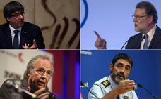 De los tanques a las «patadas a la democracia»: las frases del 'procés'