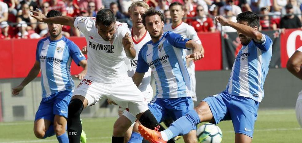 El Sevilla hunde al Málaga