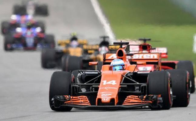 Fernando Alonso: «Hoy no he podido ayudar al equipo»